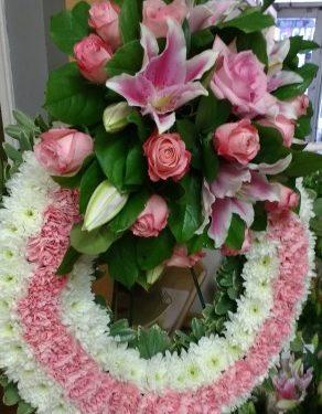 Dusty Rose Wreath