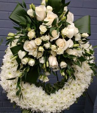 Peaceful White Wreath