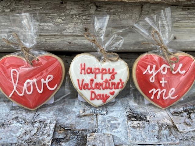 Valentine Message Cookies